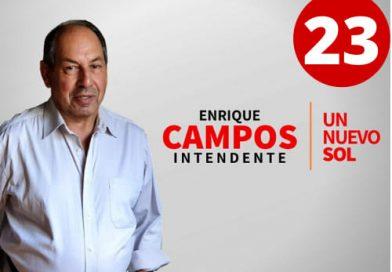 Enrique Campos,PC,elección departamental