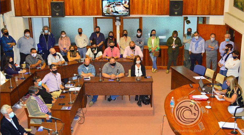 Asumieron los nuevos Ediles en la Junta Departamental  de Rocha, período 2020/25