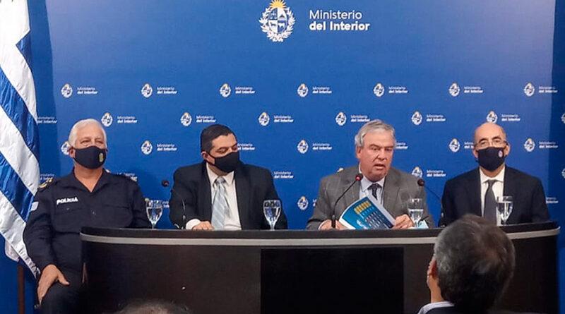 Interior constató descenso en cifras de homicidios y delitos